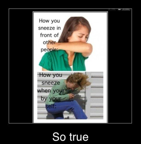 When I Sneeze