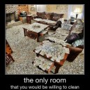 Yep, I Want To Clean This Room…