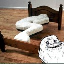 The Forever Alone Bed
