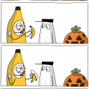 The Scary Banana Costume