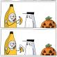 The Scary Banana Costume