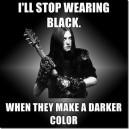 Darker Than Black?