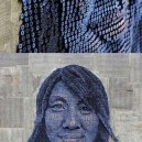 3D portraits made out of screws