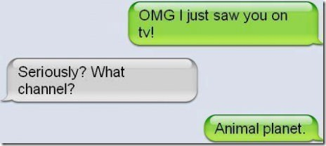 I Saw You On TV!