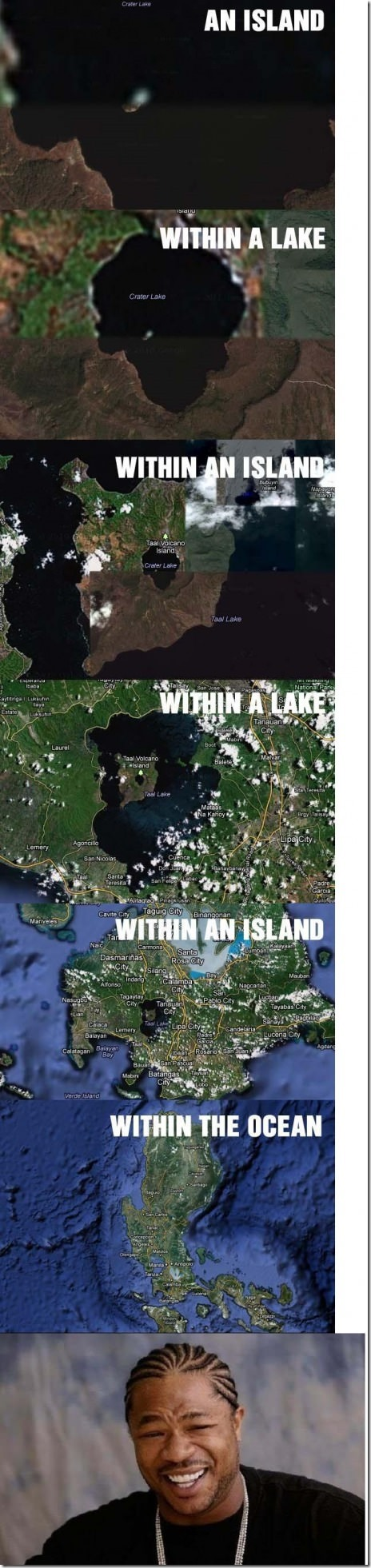 An Island Within a Lake Within an Island Within…