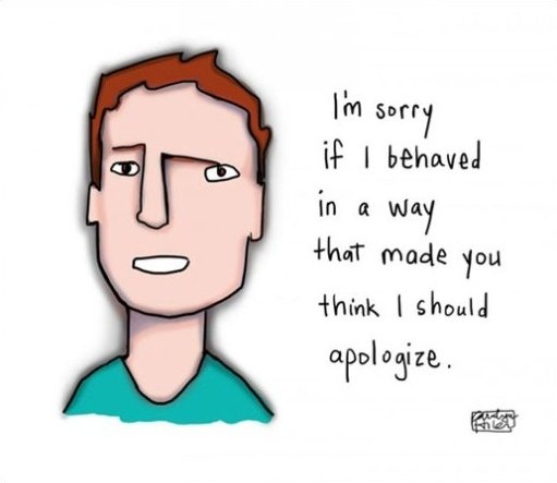 Apologizing With Style