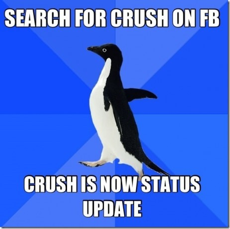 Awkward Social Media Penguin