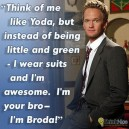 Like Yoda With a Suit
