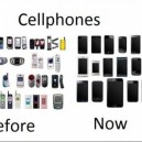 Cellphones – Before vs. Now