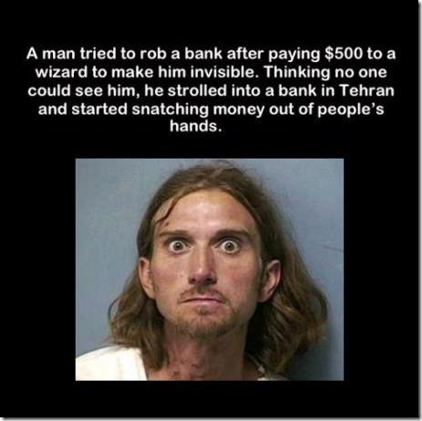Crazed Robber