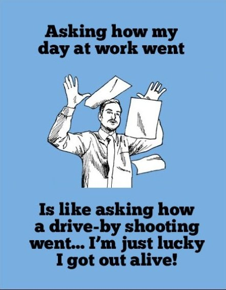 My Day At Work