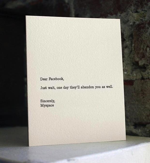 Dear Facebook