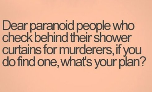 Dear Paranoid People