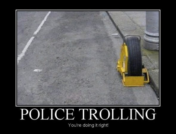 Trolling the Police