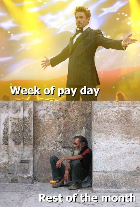 Glorious Pay Day!