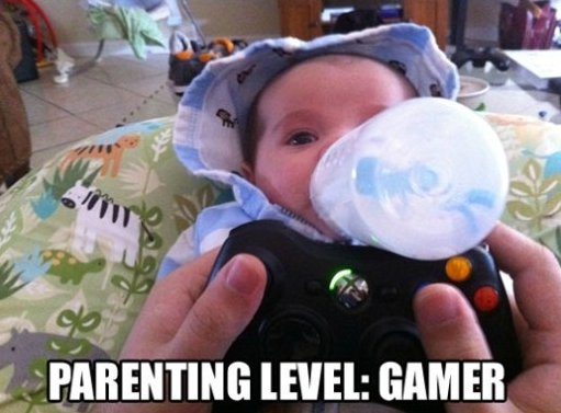 Parenting Level: Gamer