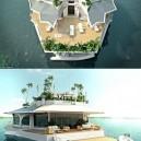 Floating Island Boat
