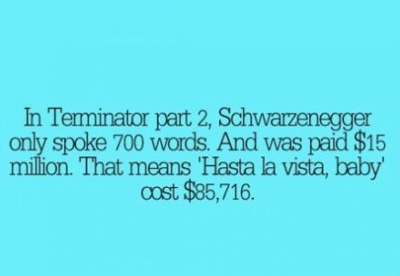 Schwarznegger Was Paid Quite Much…