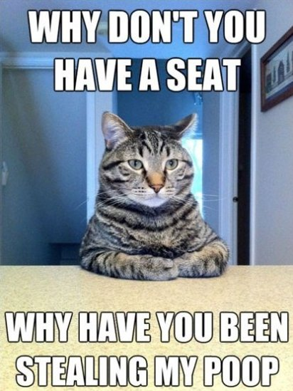 Why Don't You Have a Seat…