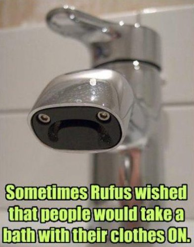 Poor Rufus The Tap