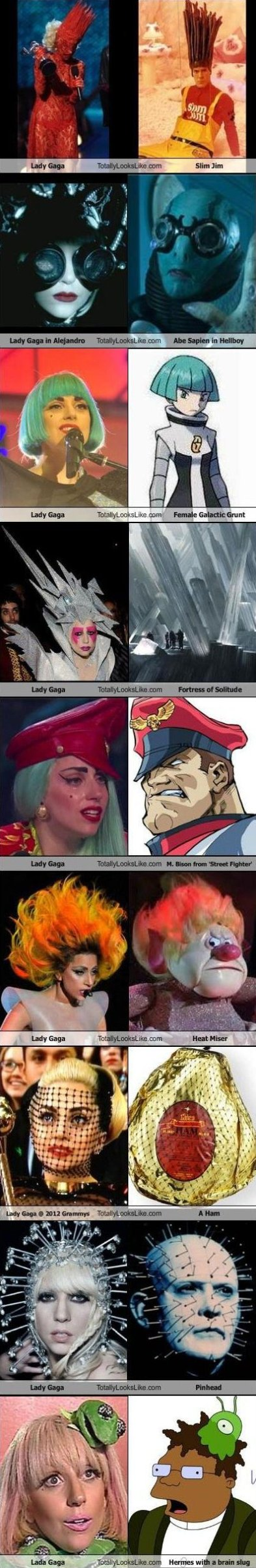 Lady Gaga Look a Likes