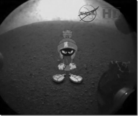 Latest image captured by Curiosity on Mars