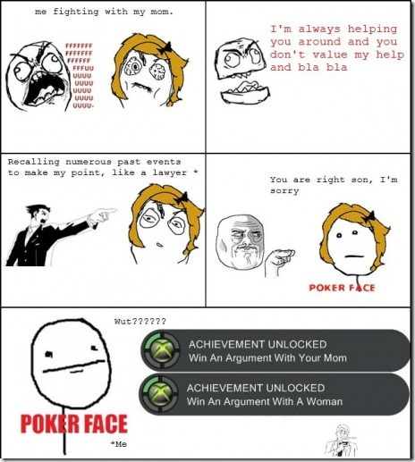 Le me arguing with mom and this happens