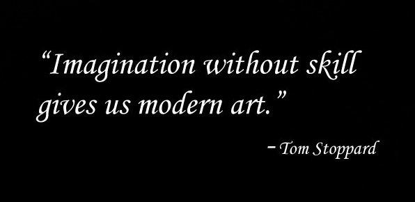 Tom Stoppard – Modern Art