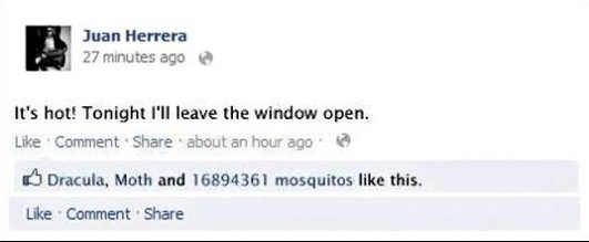 Mosquitos Likes This