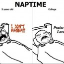 Naptime Now and Then
