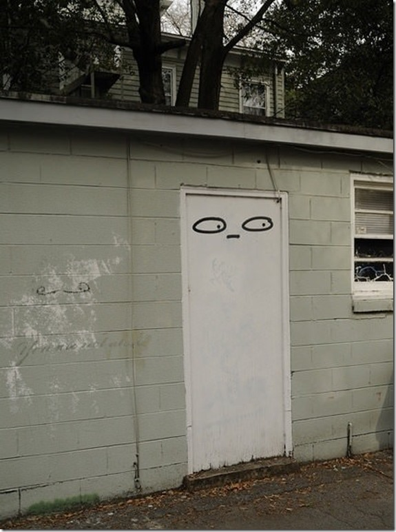 Overly Suspicious Door