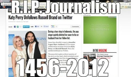 R.I.P Journalism