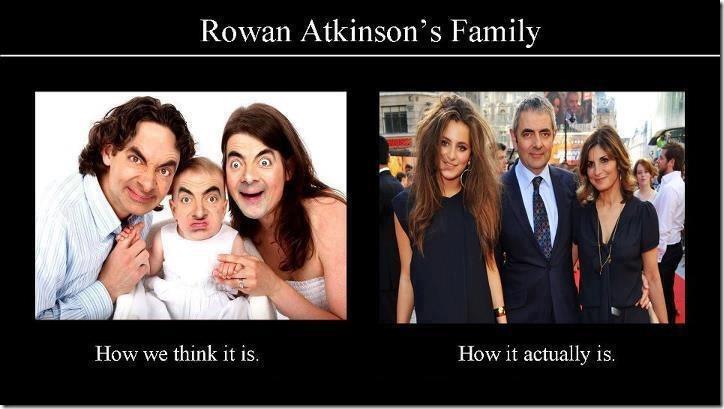 Rowan Atkinson's Family