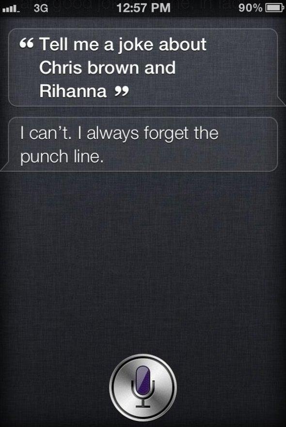 Siri Telling Jokes