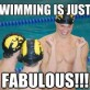 Swimming…