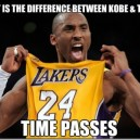 The difference between Kobe and Time