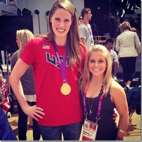 The difference between an Olympic swimmer and a gymnast
