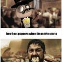 Eating Popcorn at the Movies