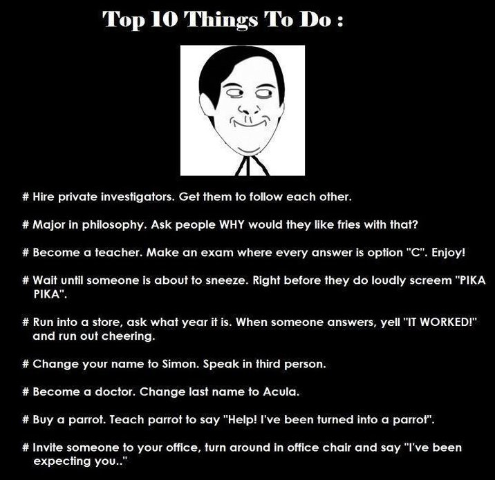 Top 10 ThingsTo Do