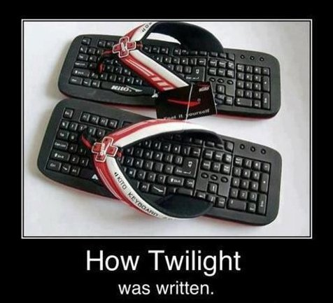 How Twilight Was Written