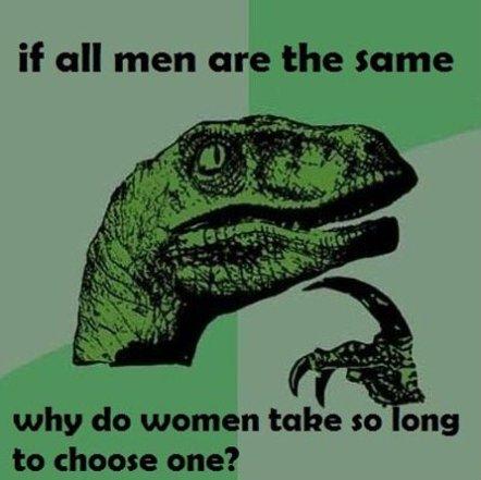 Philosoraptor – Women Logic