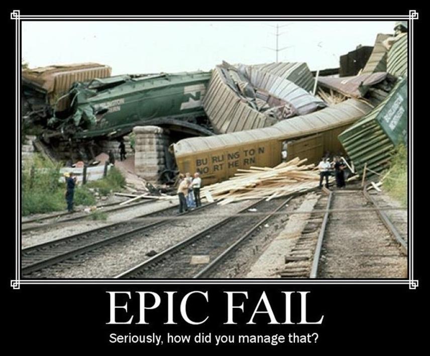 Epic Fail!