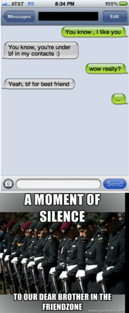 A Moment of Silence…