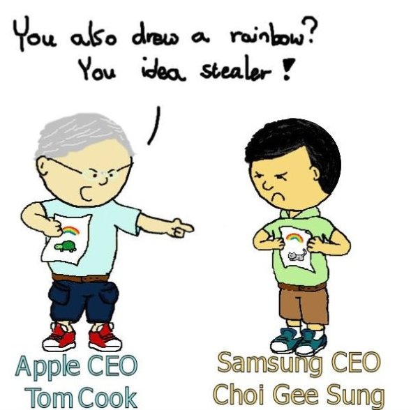 Apple vs. Samsung MEME