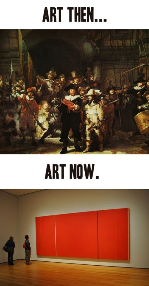 Art – Then and Now