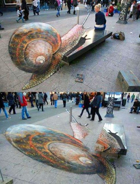 How 3D Street Art is Done