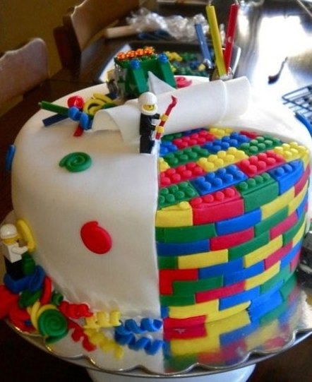 Awesome Lego Cake