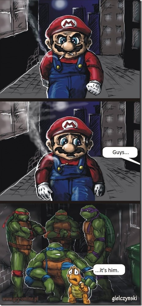 Super Mario Has Some Explaining To Do