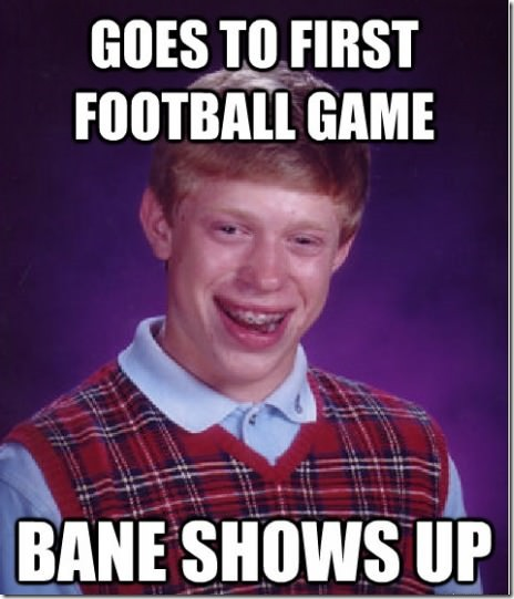 Badluck Brian Strikes Again