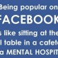 Being Popular on Facebook